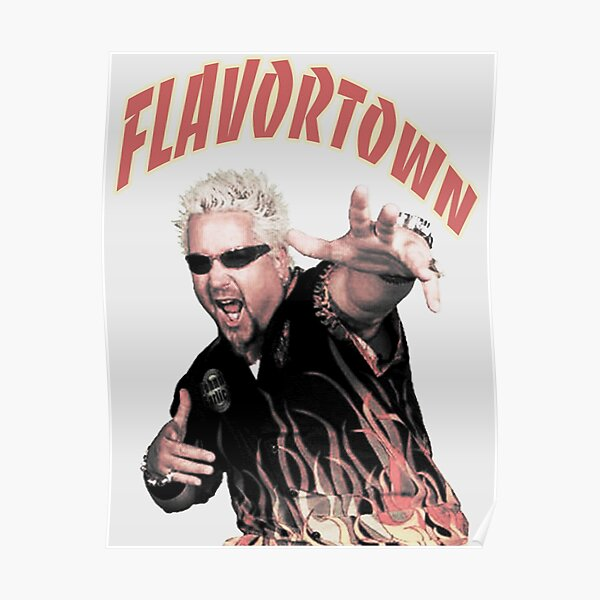 Flavor town Poster