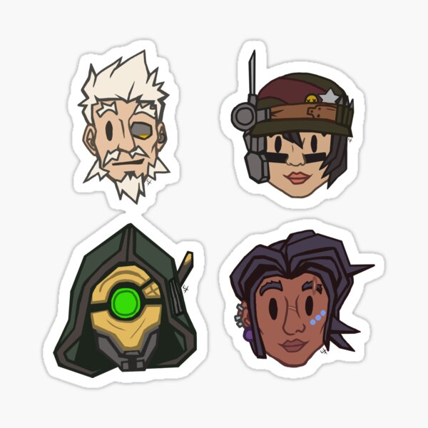 Cute Vault Hunters Sticker