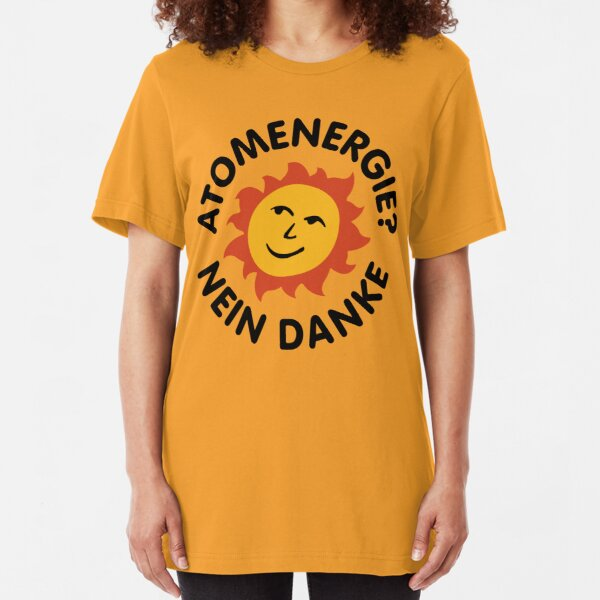 Atomenergie? Nein Danke - DARK (Netflix) Slim Fit T-Shirt