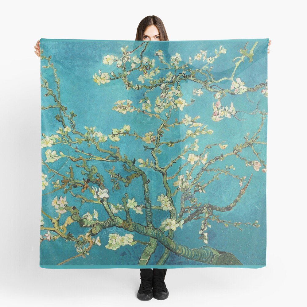 Vincent Van Gogh Blossoming Almond Tree Scarf