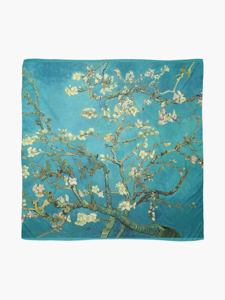 Alternate view of Vincent Van Gogh Blossoming Almond Tree Scarf
