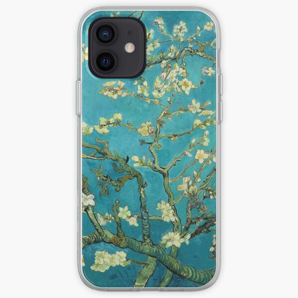 Vincent Van Gogh Blossoming Almond Tree iPhone Soft Case