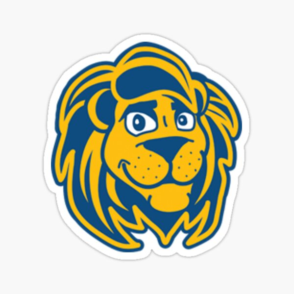 The College of New Jersey Lions Sticker