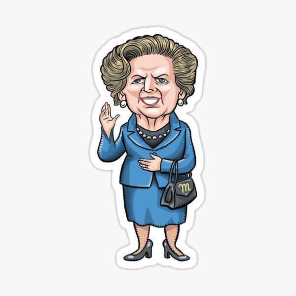 Margaret Thatcher Sticker