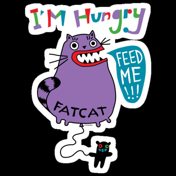 Fat Cat by Andi Bird