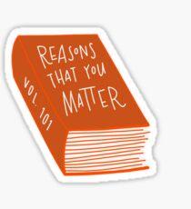 Gründe, die Sie Aufkleber ausmachen Sticker