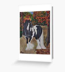 Gypsy Autumn Greeting Card