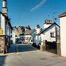 Main Street Hawkshead Cumbria by John Hare