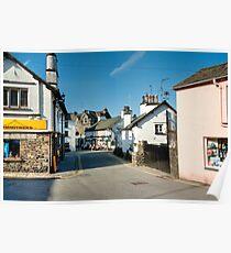 Main Street Hawkshead Cumbria Poster