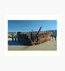 Shipwreck 5 Art Print