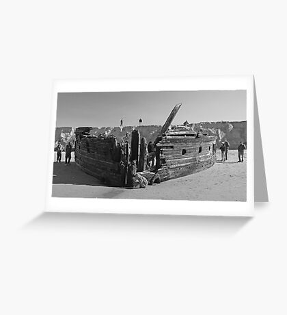 Shipwreck 8 Greeting Card