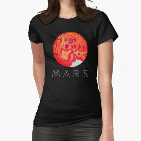 Mars T-shirt Fitted T-Shirt