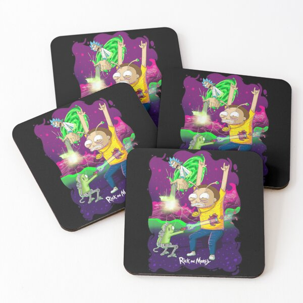 Morty Got Shot - Rick and Morty™ Coasters (Set of 4)