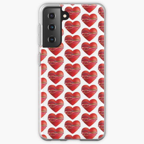 Ribbon Heart Samsung Galaxy Soft Case