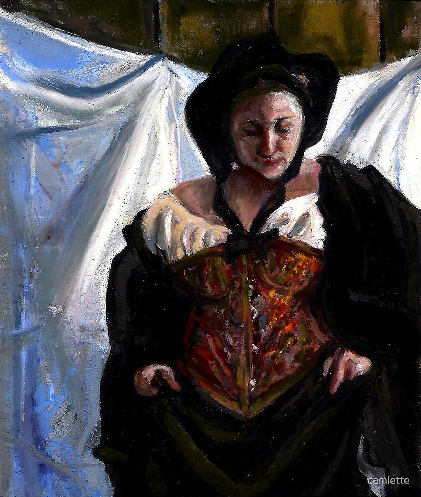 Altered, Whitechapel Prostitute I by Cameron Hampton