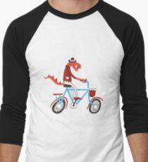 cyclist Men's Baseball ¾ T-Shirt