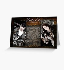 Fatality Outdoors Greeting Card