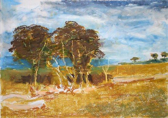 Adam Pearson's 'Gum Trees' by Art 4 ME