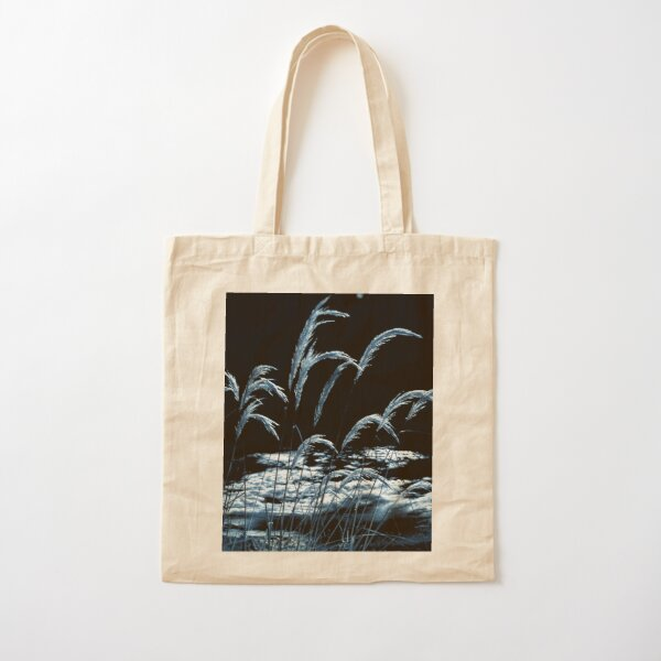 Moonlight Grass 1 Cotton Tote Bag