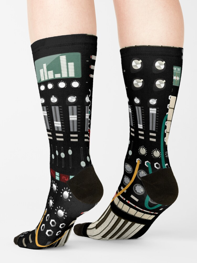 Alternate view of Music Producer and Electronic Musician Socks