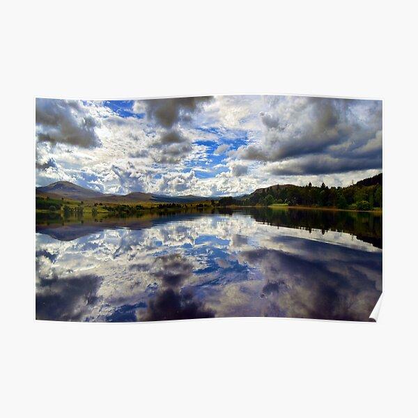 Loch Rannoch-Reflections -Highlands of Scotland. Poster