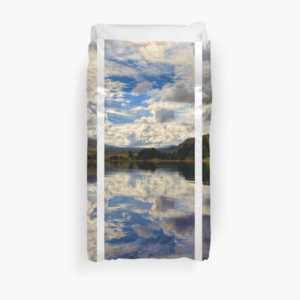 Water Reflections- Loch Rannoch-Highlands of Scotland(2) Duvet Cover