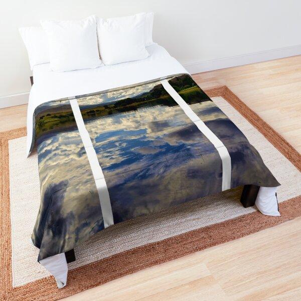 Water Reflections- Loch Rannoch-Highlands of Scotland(2) Comforter