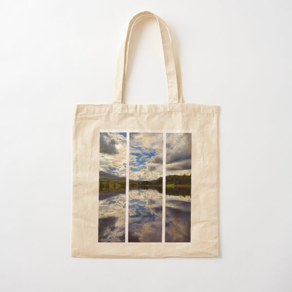 Water Reflections- Loch Rannoch-Highlands of Scotland(2) Cotton Tote Bag