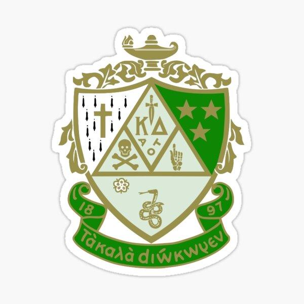 kappa delta crest Sticker