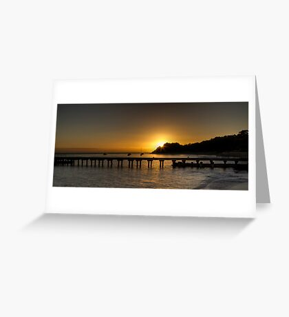 Portsea Pier  Greeting Card