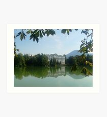 Reflection - Sound of Music - Austria Art Print
