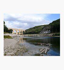Pont Du Gard - Roman Aqueduct Photographic Print