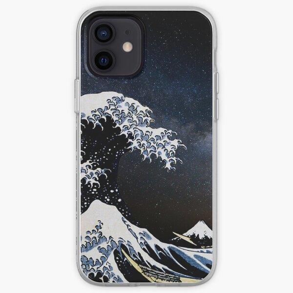 Kanagawa Wave in Space iPhone Soft Case