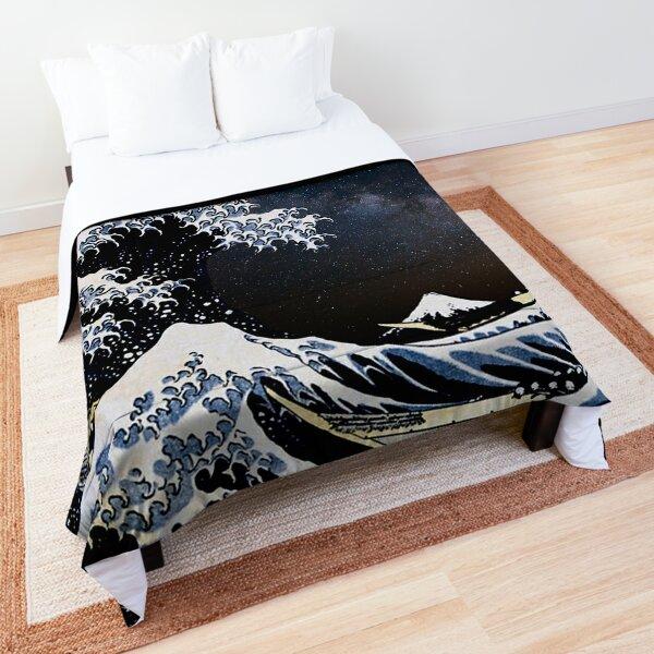 Kanagawa Wave in Space Comforter