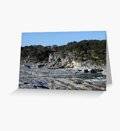 Pedernales Falls Greeting Card