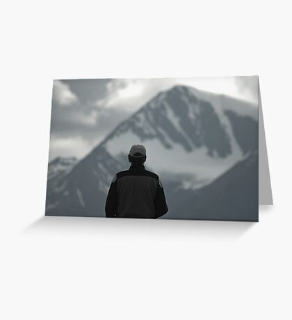 Taking It All In Greeting Card