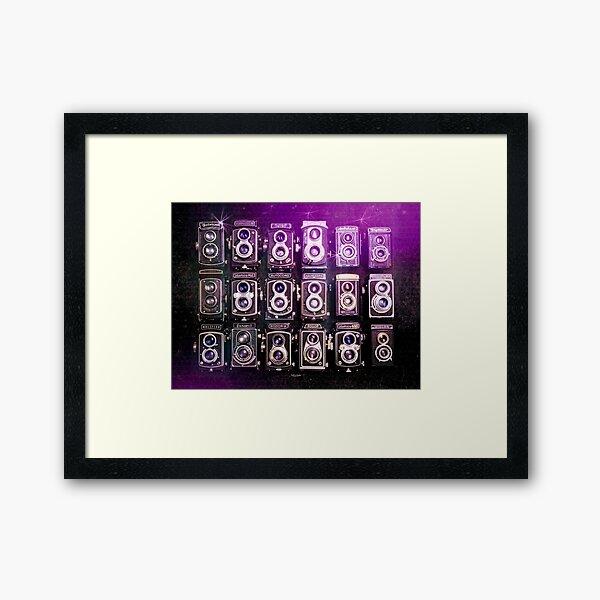 TLR Cameras Framed Art Print