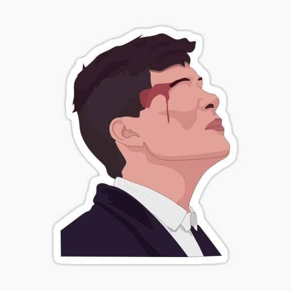 Peaky blinders Thomas Shelby Sticker