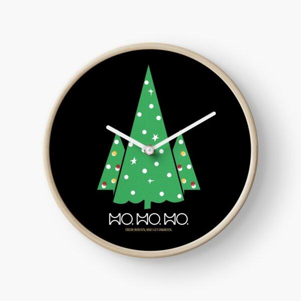 HO. HO. HO... Frohe Weihnachten Uhr