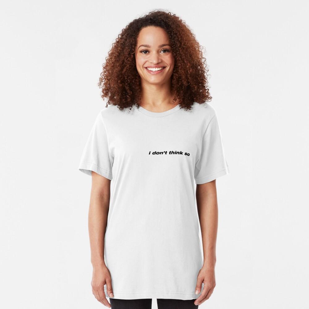 Obsesión de EXO no lo creo Camiseta ajustada