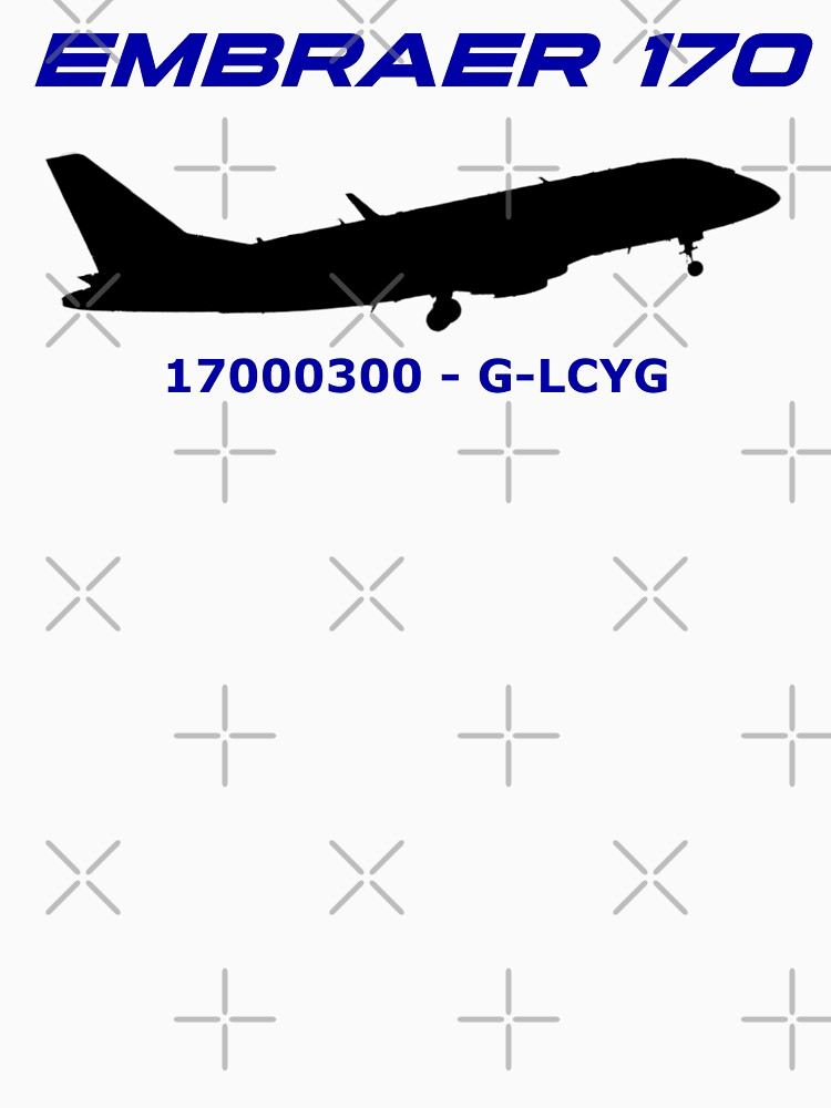 Embraer 170 17000300 G-LCYG (Black Print) by AvGeekCentral