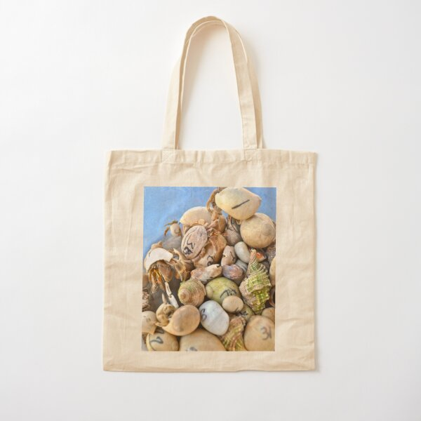 Crab Racers Cotton Tote Bag