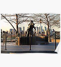 Hoboken WWII Memorial Poster