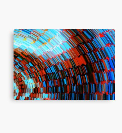 Tunnel of Books Canvas Print