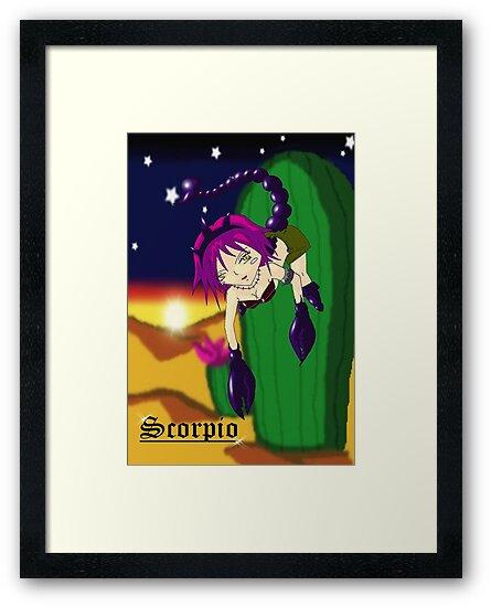 zodiac sign: Scorpio* by Akiqueen