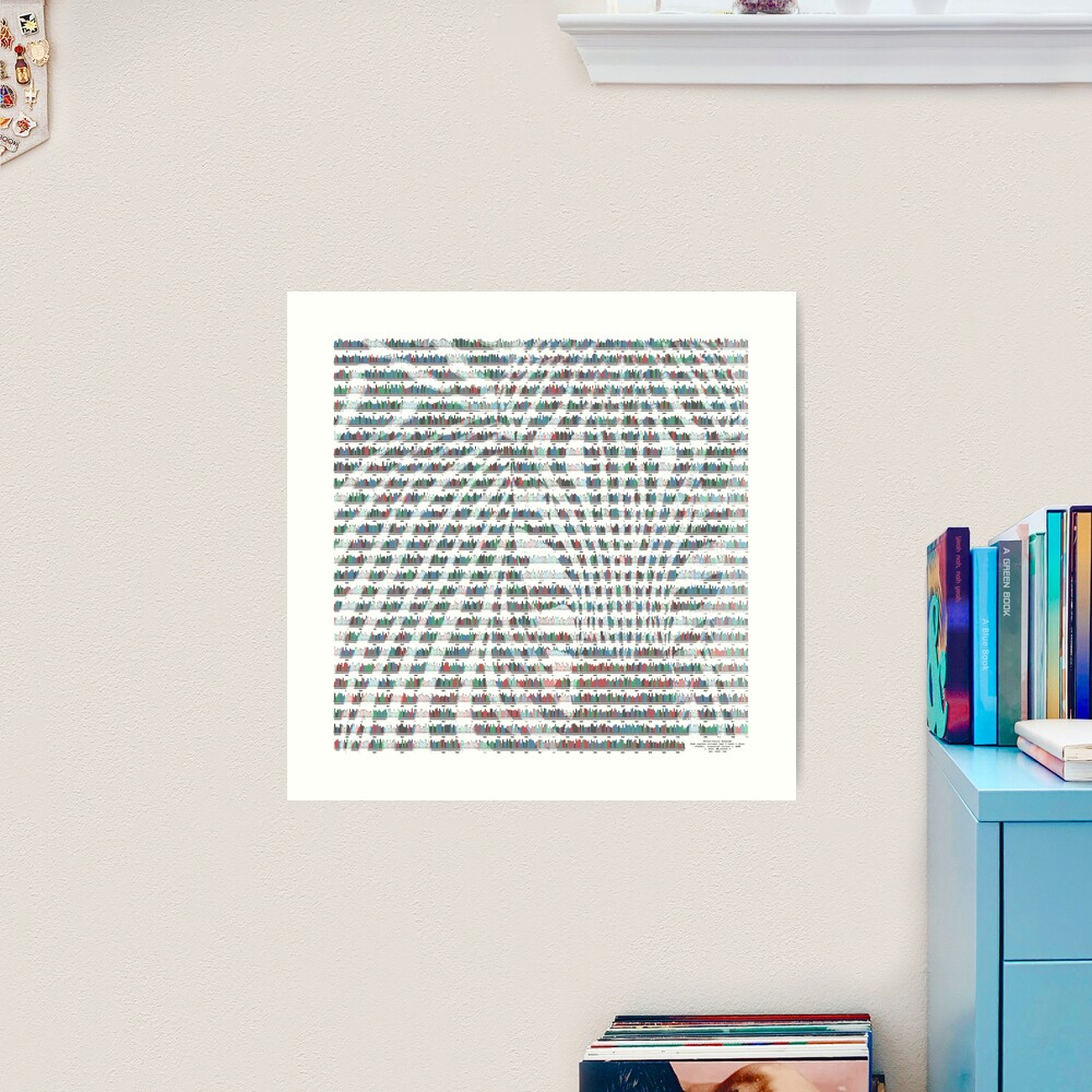 Ehlers Danlos Zebra Art Print