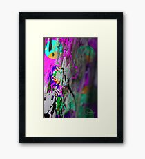 Void Bubbles Framed Print