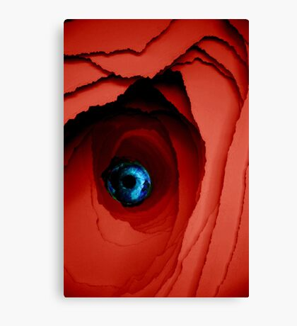 Blue miracle Canvas Print