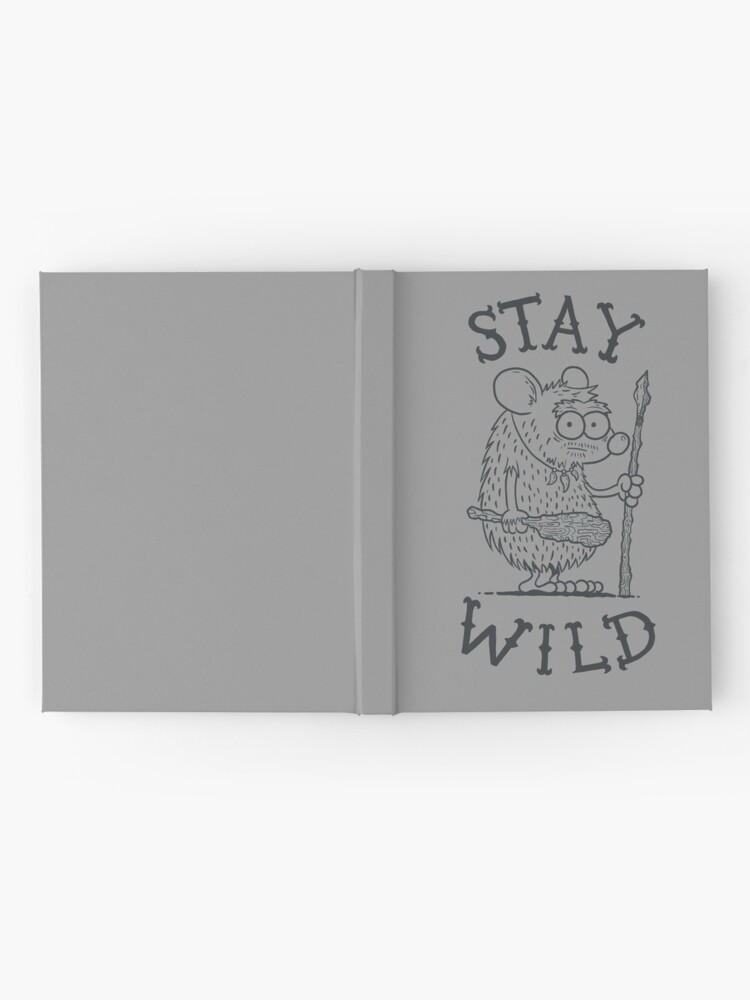 Alternate view of Stay Wild Hardcover Journal