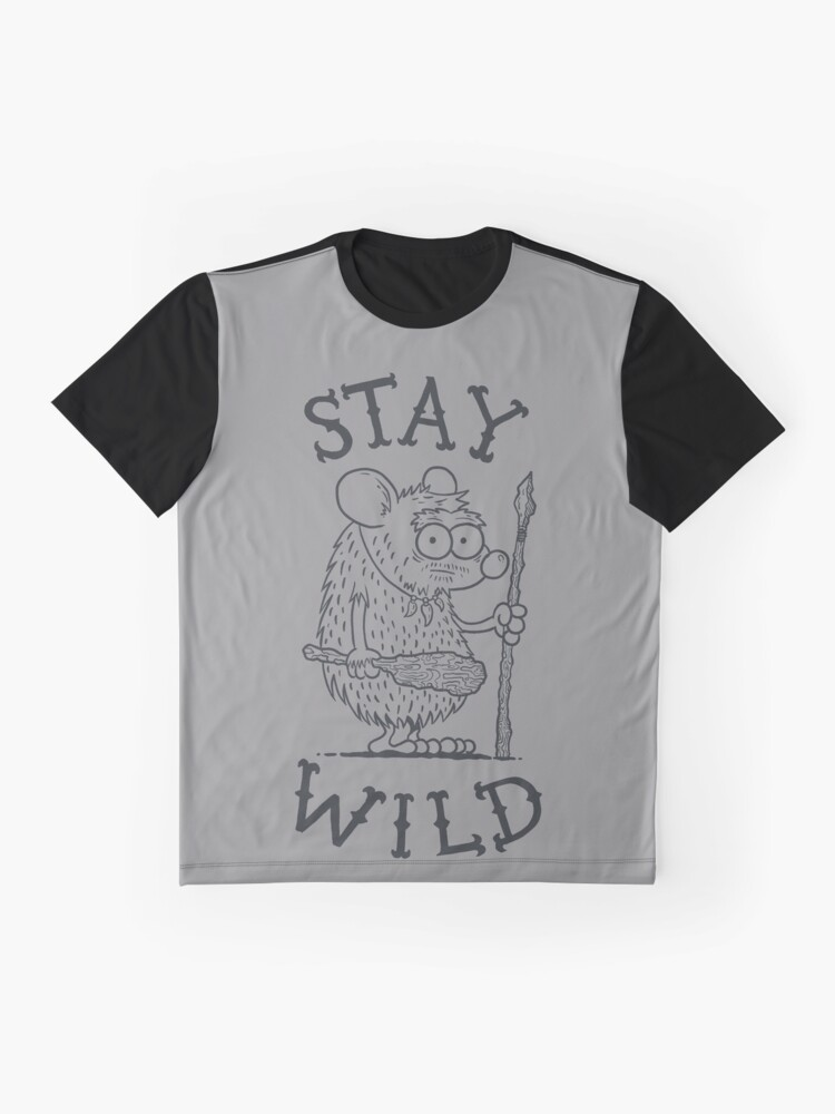 Alternate view of Stay Wild Graphic T-Shirt